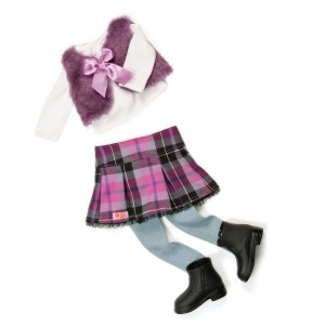 Our Generation outfit A Taid Plaid