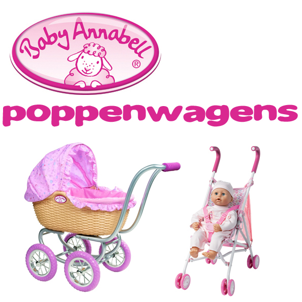 Baby Annabell poppenwagens