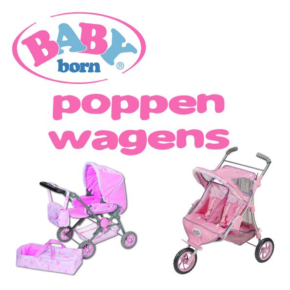 Baby Born poppenwagens