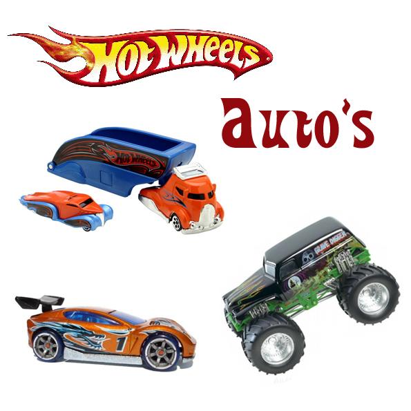 Hotwheels auto's