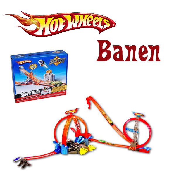 Hot Wheels banen
