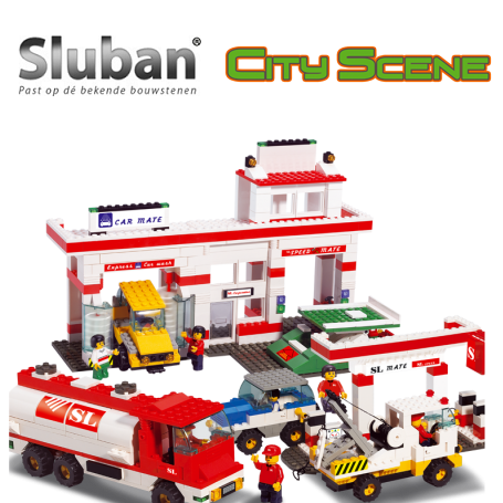 Sluban City Scene