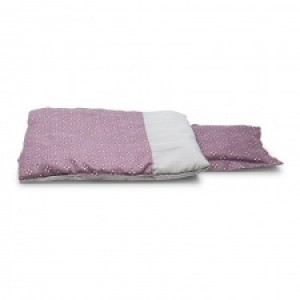 Mini Mommy Bedset Paars 50 cm