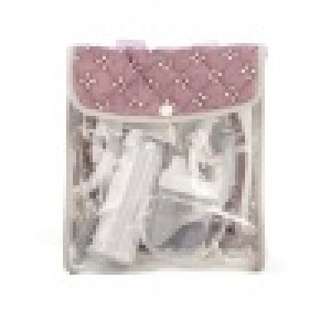 Mini Mommy Voedingsset Paars 8-delig 16 Cm