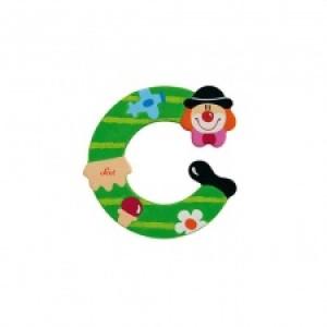 Sevi Letter C Clown 10 Cm