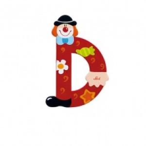 Sevi Letter D Clown 10 Cm