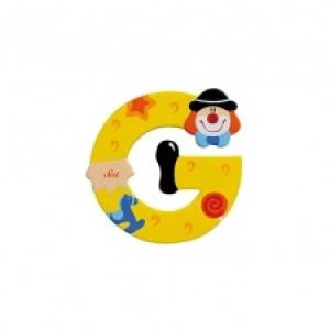 Sevi Letter G Clown 10 Cm