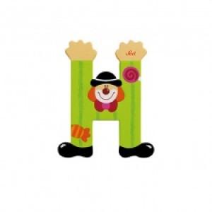 Sevi Letter H Clown 10 Cm
