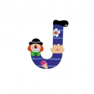 Sevi Letter J Clown 10 Cm