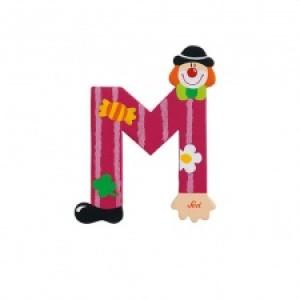 Sevi Letter M Clown 10 Cm