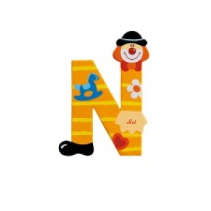 Sevi Letter N Clown 10 Cm