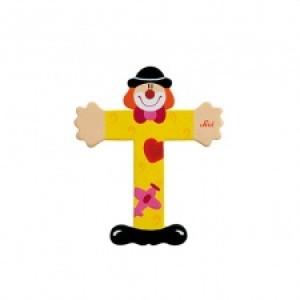 Sevi Letter T Clown 10 Cm