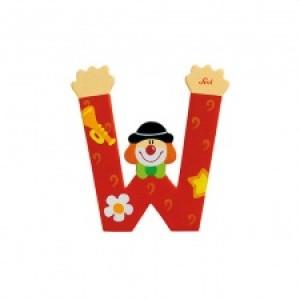 Sevi Letter W Clown 10 Cm