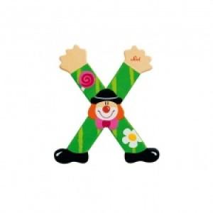 Sevi Letter X Clown 10 Cm