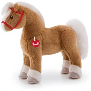 Trudi Knuffel Paard Dustin 40 Cm Bruin