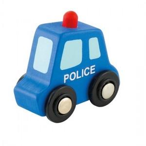 Sevi Politieauto Mini Blauw