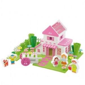 Sevi Speelset Soft Huis 108-delig