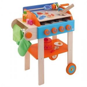Sevi 'speelgoedkeuken Grill 43-delig