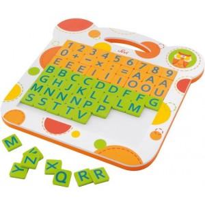 Sevi Magneetbord Letters En Cijfers 63-delig