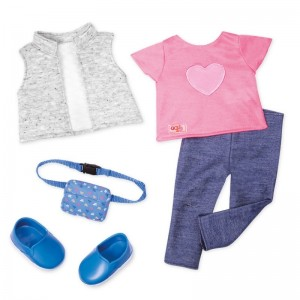 Our Generation outfit Trendy Traveler