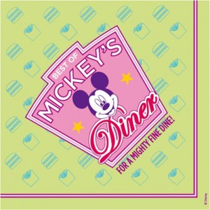 Best of Mickey servetten Diner