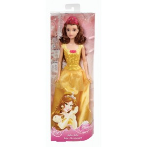 Disney Princess glitter Belle