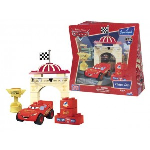 Disney Cars Mega Bloks Piston Cup