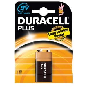 Duracell Plus 9V E-Block batterij 6LR61
