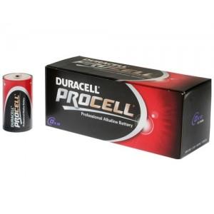 Duracell Procell Mono D batterij LR20 doosje van 10 stuks
