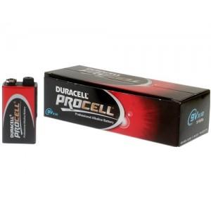 Duracell Procell 9V E-Block batterij 6LR61 doosje van 10 stuks