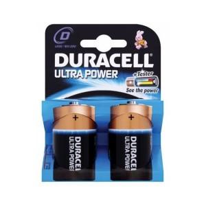 Duracell Ultra Power Mono D batterij LR20 blister van 2 stuks