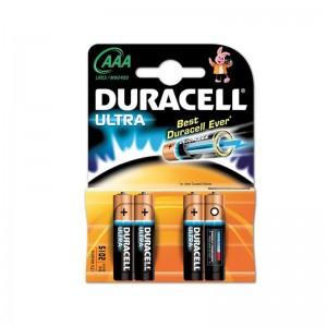 Duracell Ultra AAA batterij LR03 blister van 4 stuks