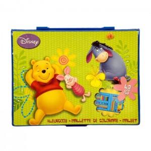 Kleurset 42-delig Disney Winnie the Pooh