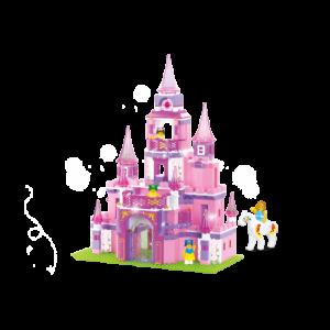 Sluban Romantisch Prinsessen Kasteel