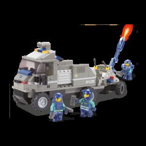 Sluban Artillerie Wagen, met geluidseffect!