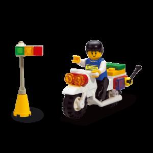 Sluban City Motorfiets