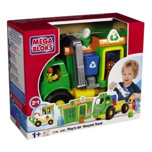 Mega Bloks recycle truck