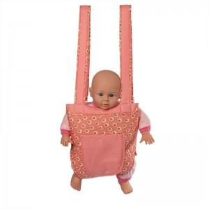 Mini Mommy Poppendraagzak Dusty Roze 26cm