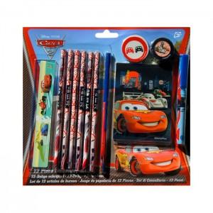 Schrijfset 12-delig Disney Cars