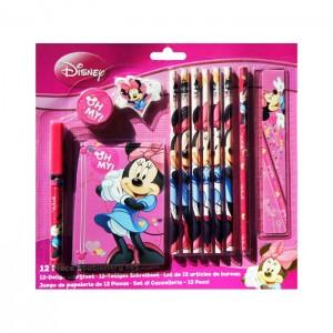 Disney Minnie Mouse 12 delige schrijfset