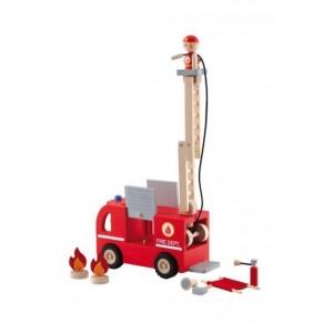 Sevi Brandweerwagen 9 delig