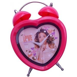 Disney Violetta wekker roze