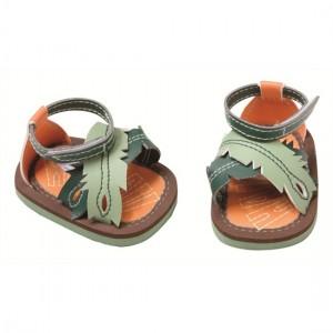 Baby Born sandalen groen