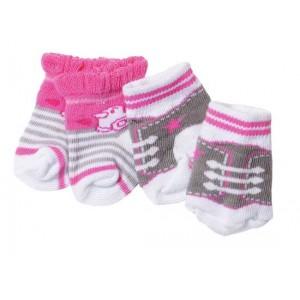 Baby Born sokjes, 2 paar